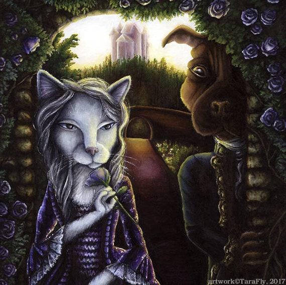 Beauty and the Beast 11x14 Fine Art Print