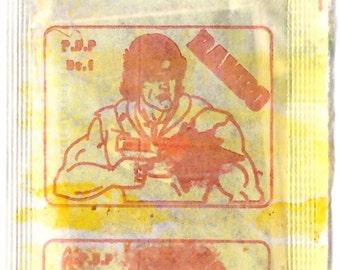 Unopened 1980s RAMBO Card Pack