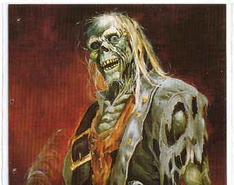 1994 Mike Ploog Collector Card Zombie