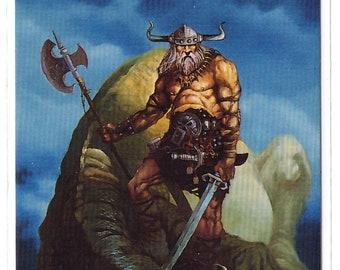 1994 Mike Ploog Collector Card Dragon Slayer