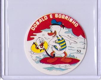 Rare 1962 Walt Disney Prod MICKEY Album Sticker - Donald Duck 17111911