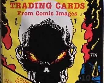 Unopened GHOST RIDER Collector Cards Pack 1992 Comic Images