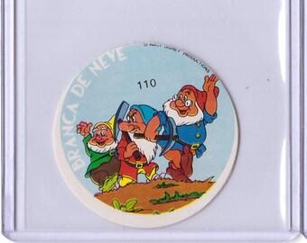 Rare 1962 Walt Disney Prod MICKEY Album Sticker - Three Dwarfs 17111923