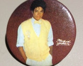 Items Similar To 1983 Michael Jackson Thriller Yellow Sweater Pin