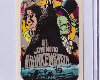 Ver RARE Young Frankenstein 1984 Video Movies Series Sticker