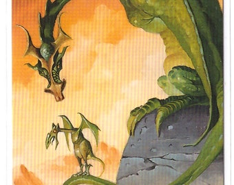1994 Mike Ploog Collector Card Dragons Dont Fly