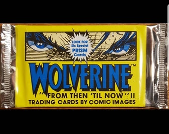 Unopened WOLVERINE Collector Cards Pack 1992 Comic Images