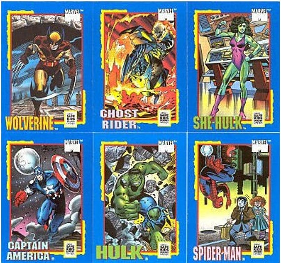 All My Children Star Pics Inc 1991 Full Complete Trade Card Set