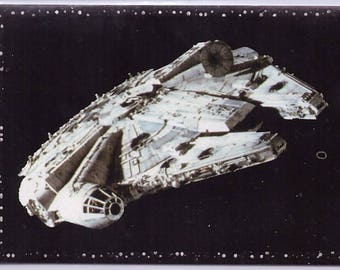 Rare 1996 Star Wars European Panini Sticker 110 Millenium Falcon