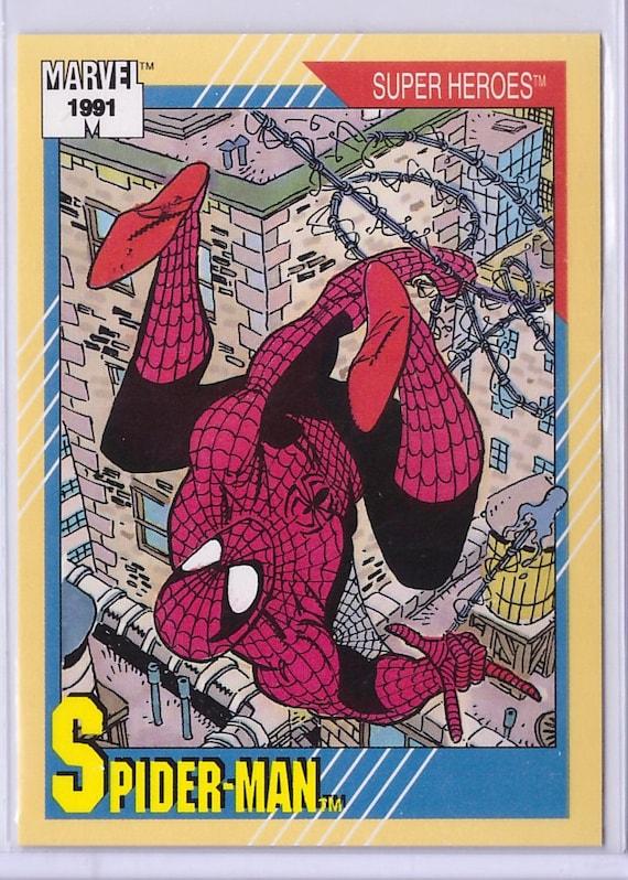 1991 Spider Man Marvel Universe Series 2 Card Etsy