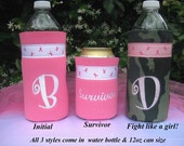 Breast Cancer Awareness Water Bottle-Koozies