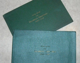 Year Book for Delphian Chapters - First and Third Years