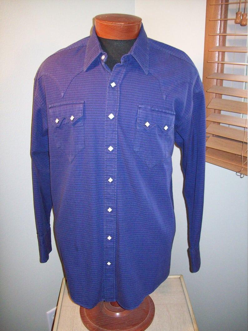 1cd7e6979f Vintage 1960s Rockmount Ranch Wear Classic Cowboy Western