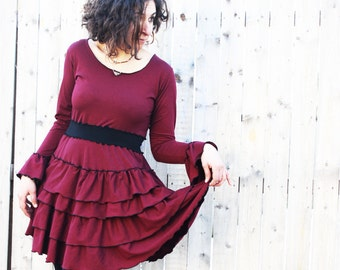 Lesley Dress - Organic Fabric Many Colors to Choose From - Eco Fashion