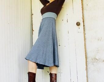 SAMPLE SALE - Size S/M - Brooklyn Dress - 3/4 Sleeve - Hemp and Organic Cotton - Eco Fashion - Ready to Ship