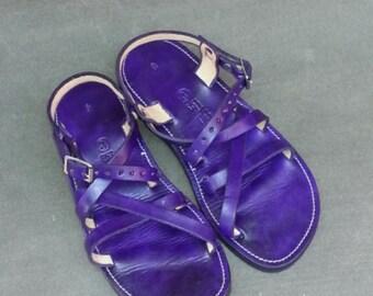 Hunter - Adjustable Unisex Leather Sandal