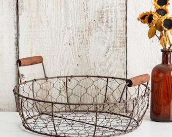 Spring Centerpiece Farmhouse Chic Table Centerpiece Velvet and Flannel Pumpkins and Basket Set Chicken Wire Basket Rustic Wire Basket