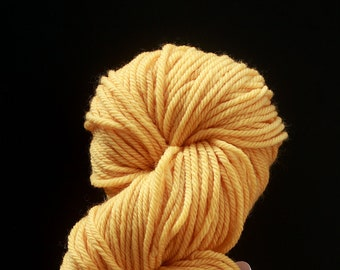 DESTASH cascade 220 superwash aran yellow buttercup butter