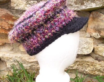 Newsboy Beret Crochet Pattern - with Detailed Variations and sizes - Permission to Sell Finished Items