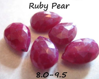 8  Inch Strand,Super Finest Quality,Pink Rubelite Quartz Faceted Cushion  Shaped Briolettes,Size 8mm