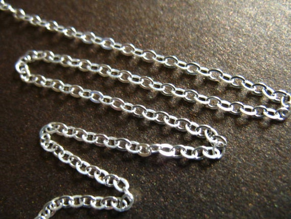 0.8 mm BOX Chain Wholesale 925 SS Chain 5-100 feet Bulk Sterling Silver Chain strong dainty  SS..S868..hp