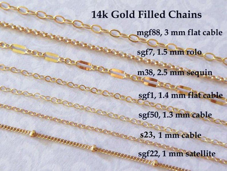 Gold Fill CHAIN, 14k Gold Filled Chain, Necklace Chain Wholesale Chain, delicate s23 l88 mgf88 m26 sgf98 m38 sgf1 sgf7 sgf22 sgf50 s1 gs t photo
