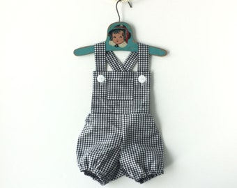 Retro Bubble Romper • Unisex Baby Romper • 1st Birthday Outfit • Summer Baby Clothes • Baby Girl Sunsuit Beach Romper • Baby Boy Sunsuit