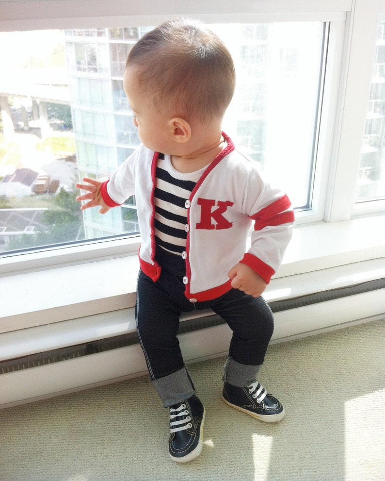 0fb0a71f6ccf Back to School Baby Boy Outfit Personalized Baby Gift