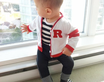 Grease Halloween Costume, Custom Baby Grease Costume, Grease the Movie, Grease Party, Rockabilly Costume, Toddler Boy Last Minute Costume