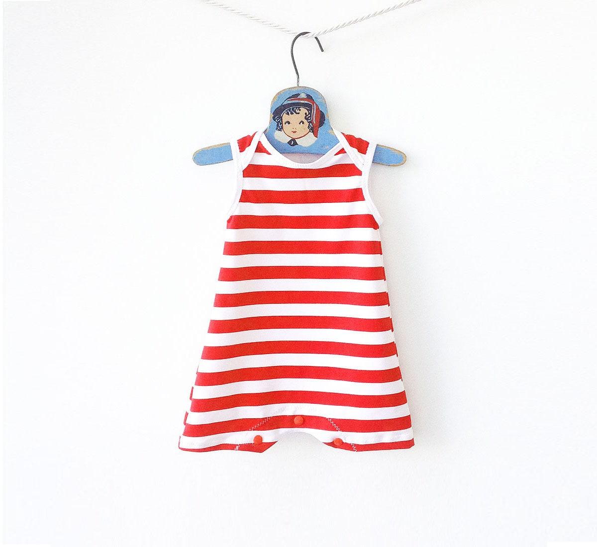 ad8ec7e75b4c9 Baby Swimsuit Unisex Retro Bathing Suit Girls One Piece | Etsy