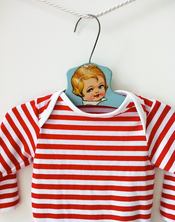 Red and White Striped Onesie Red Striped Bodysuit Christmas  ef9dd1e44