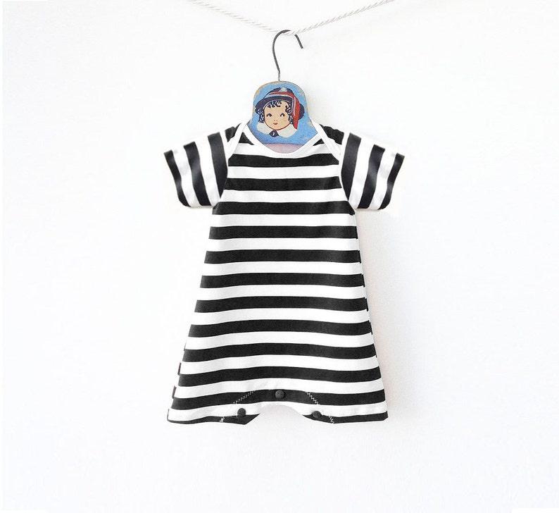 65c970675 Retro Striped Baby Swimsuit Baby Boy Swimwear Toddler
