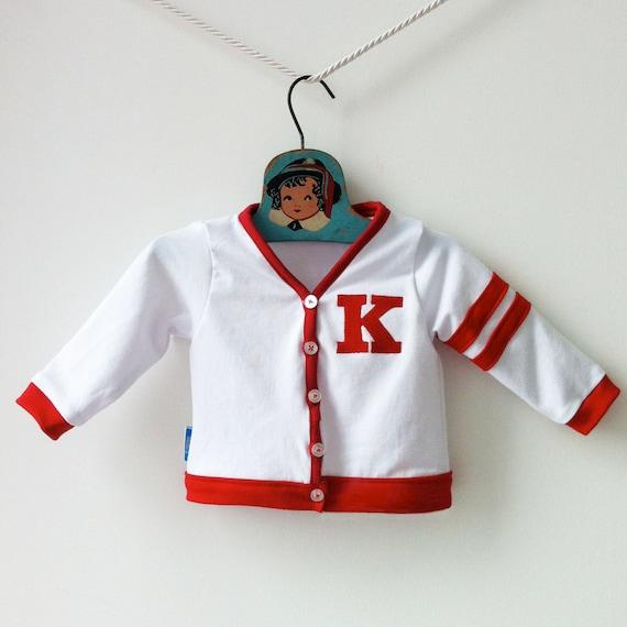 c10b3bbf4 Custom Baby Varsity Sweater Kids Letterman Jacket Baby Boy