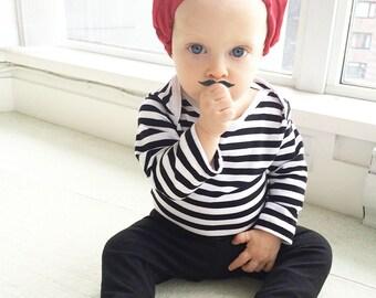Baby Boy Halloween Costume, Boys Frenchman Outfit, Funny Halloween Baby, Halloween Outfit, My First Halloween Costume, Last Minute Costume