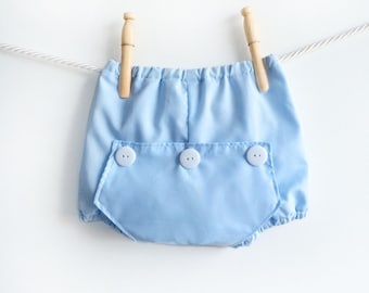 Baby Boys Bloomers • Toddler Summer Shorts • Baby Diaper Nappy Covers • Cotton Bubble Shorts Trousers • Baby Photo Shoot Prop Clothes