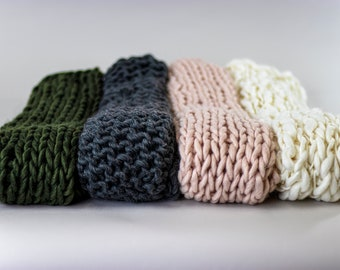 posing blanket thick layer blanket} Chunky Knit Rainbow Newborn Layering Blanket {photo prop rainbow baby hand knit