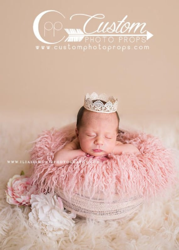 Newborn Baby Girl Photography Studio Set Matching Baby Prop Etsy