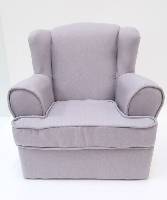 TODDLER CHAIR Photo Props, Children\'s Chair, Nursery Room Furniture, Gray  Chair, Kid\'s Bedroom Chair, Boy Room Chair, Photography Prop DIANA