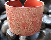 Copper cuff bracelet  Asian style ornate design,  handmade copper jewelry by theshagbag on Etsy