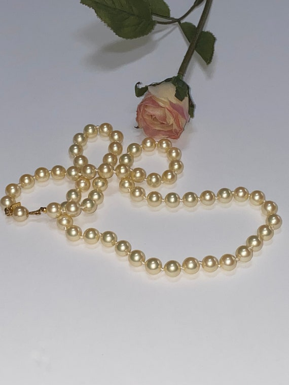 Vintage Marvella Pearl Necklace - image 6