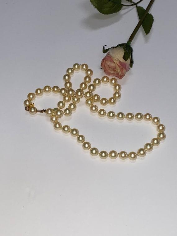 Vintage Marvella Pearl Necklace - image 4