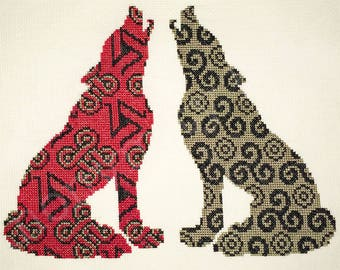 Teen Wolf Cross Stitch Pattern