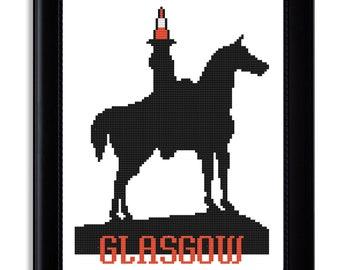 Glasgow Cross Stitch Pattern