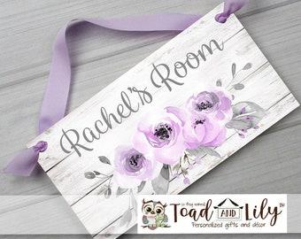 Purple Bedroom Decor Etsy