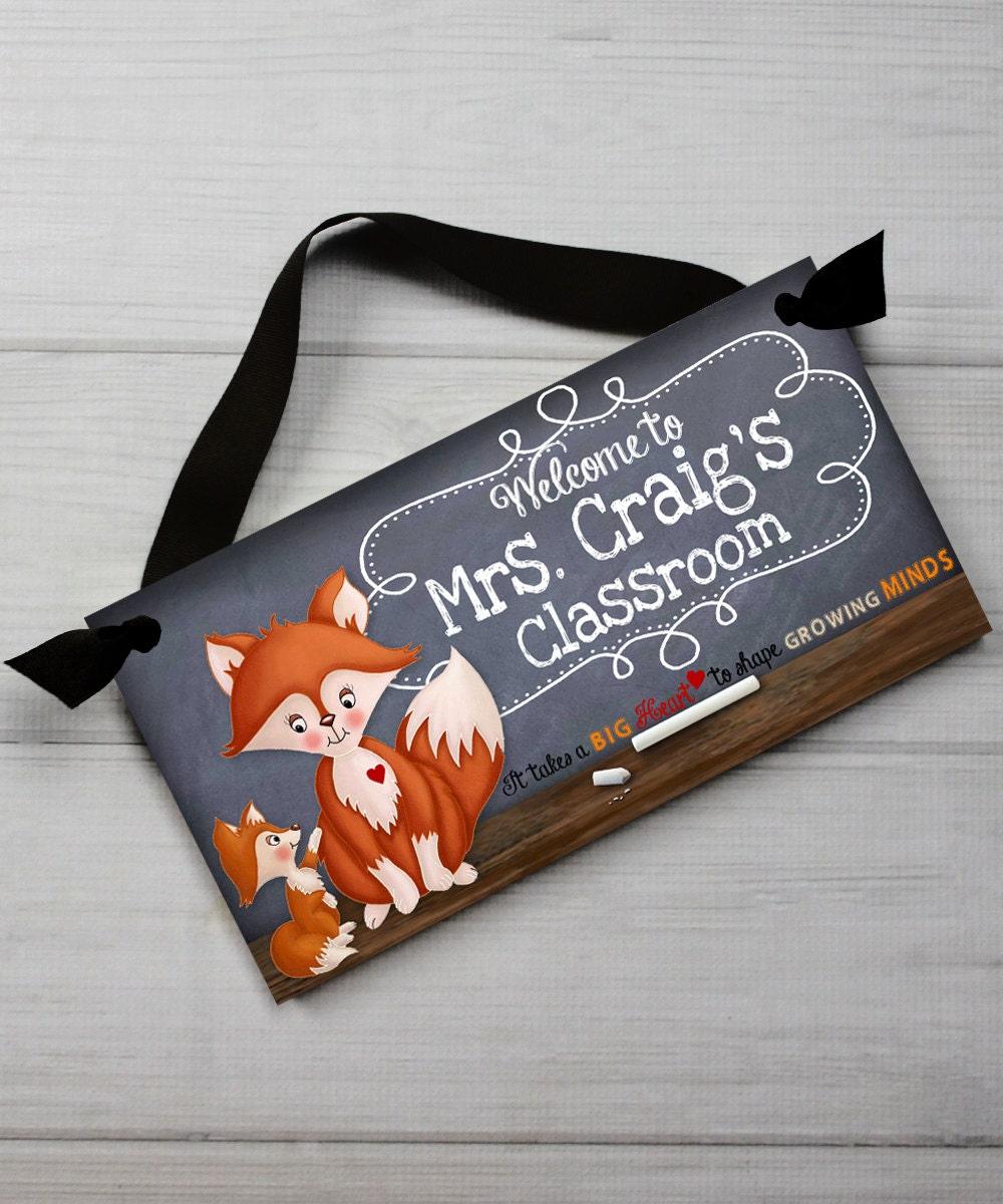 Lehrer-Tafel-Klassenzimmer mit großen Herzen Zitat Spruch Tür | Etsy