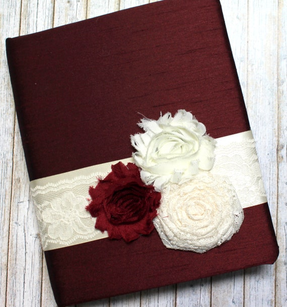 gift log gift recording book burgundy bridal shower gift etsy