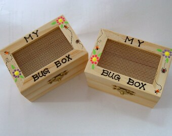 DIY science kit-My bug box-wooden toy-personalize-gifts under 25-bug collecting-camping outdoor-car trip adventure-children game-entomology