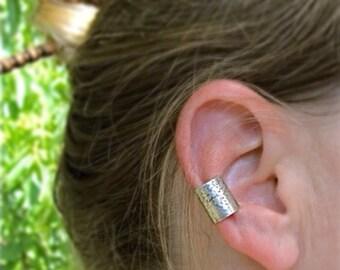 Sterling Silver Floral Ear Cuff. No piercing.