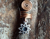 Copper Flower Dreadlock Accessory