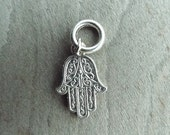 Silver Tone Hamsa Dreadlock Accessory